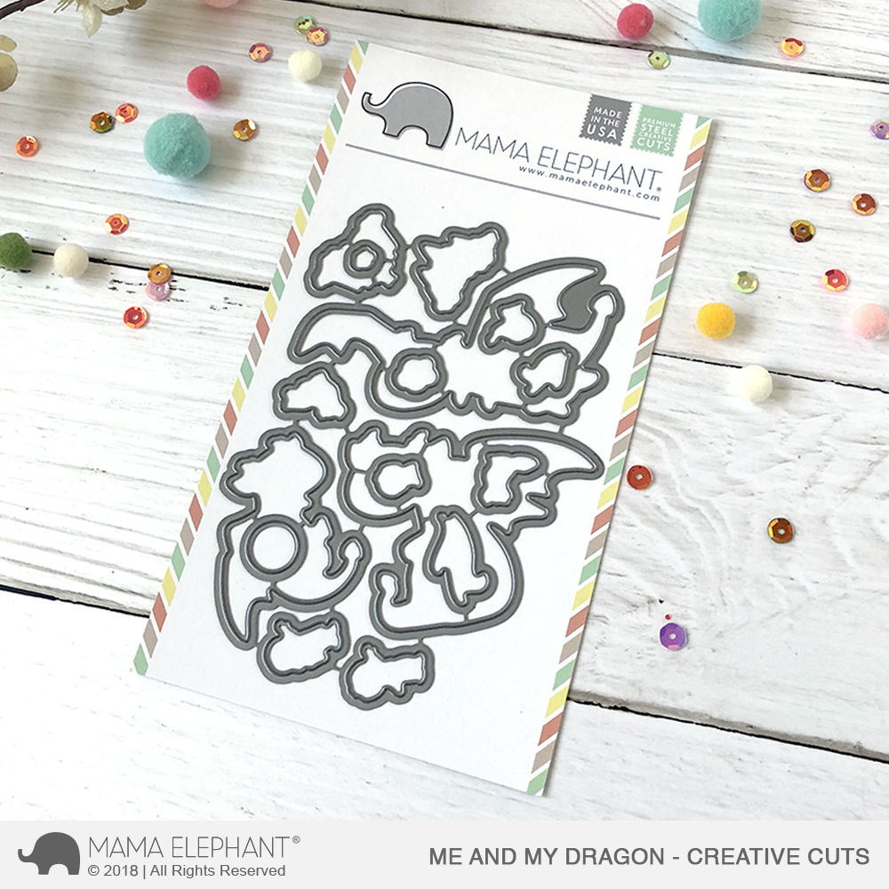 *NEW* - Mama Elephant - Me and My Dragon - Creative Cuts