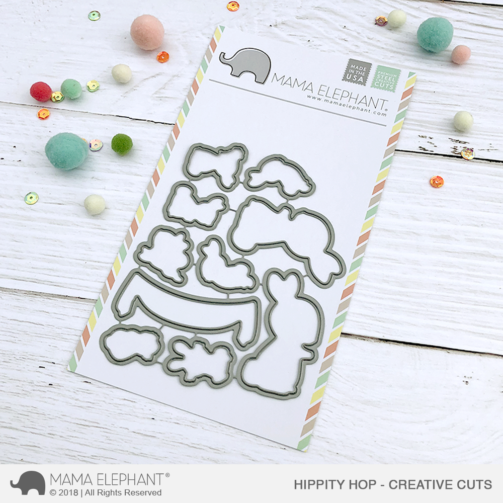 *NEW* - Mama Elephant - Hippity Hop - Creative Cuts