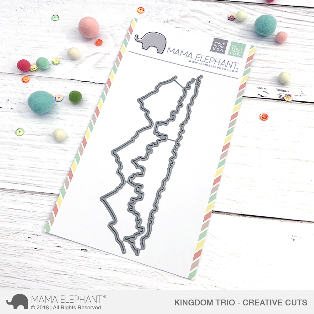*NEW* - Mama Elephant - Kingdom Trio - Creative Cuts