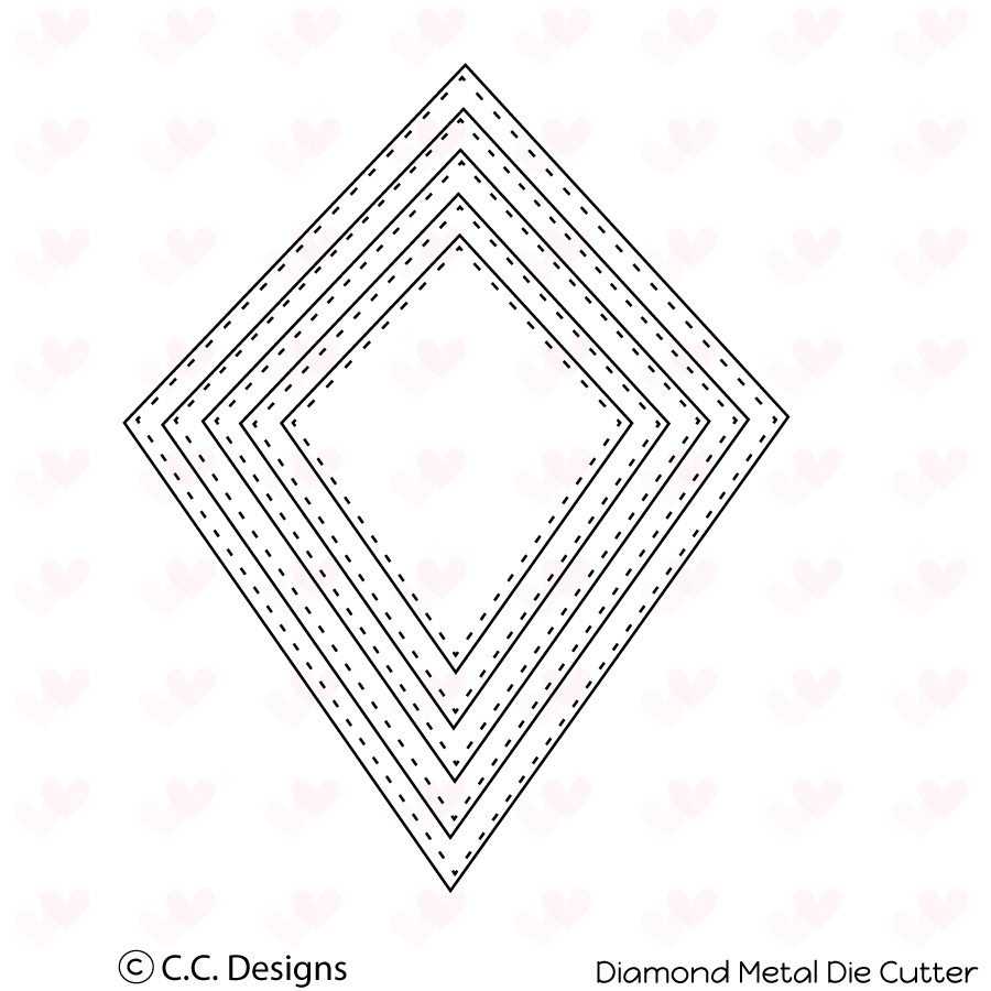 *PRE-ORDER* - CC Designs - Diamond Metal Die