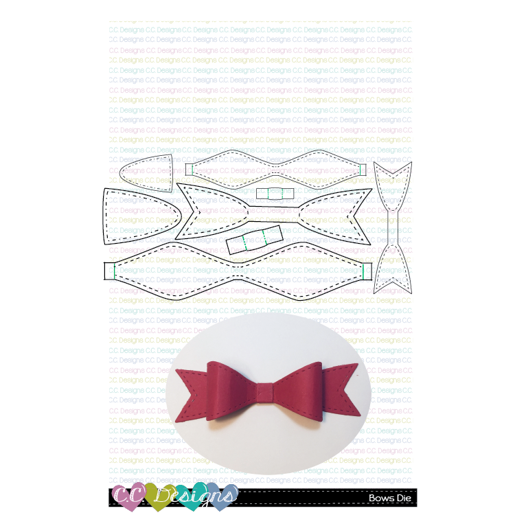 *NEW* - CC Designs - Bows Die