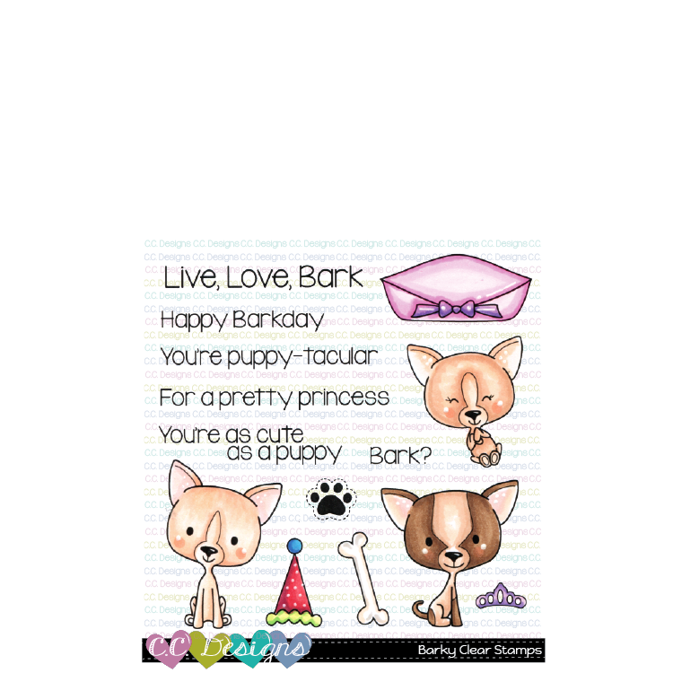 *NEW* - CC Designs - Barky Clear Stamps