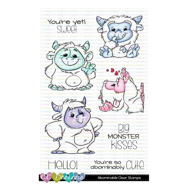 CC Designs - Abominable Clear Stamp Set