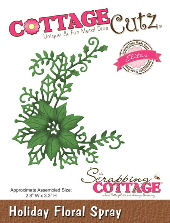 Cottage Cutz - Holiday Floral Spray