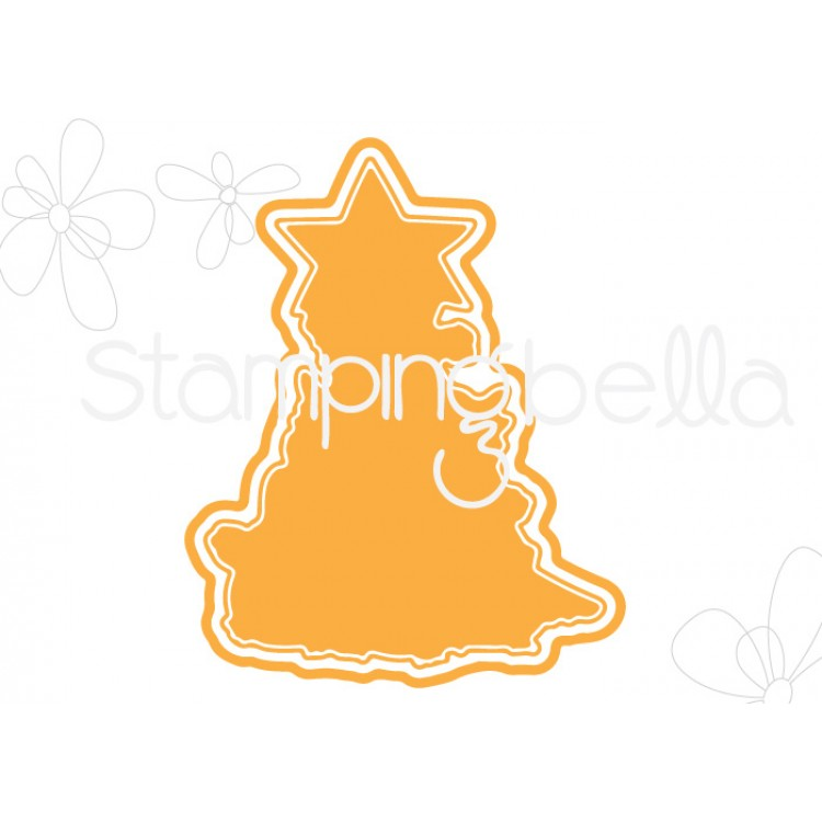 "*PRE-ORDER* - Stamping Bella - THE CHICK TREE ""CUT IT OUT"" DIE"