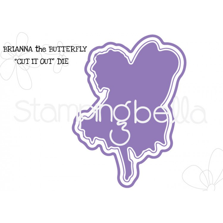 Stamping Bella - Brianna the butterfly CUT IT OUT DIE