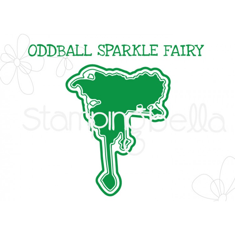 "Stamping Bella - Oddball Sparkle Fairy ""CUT IT OUT"" DIE"