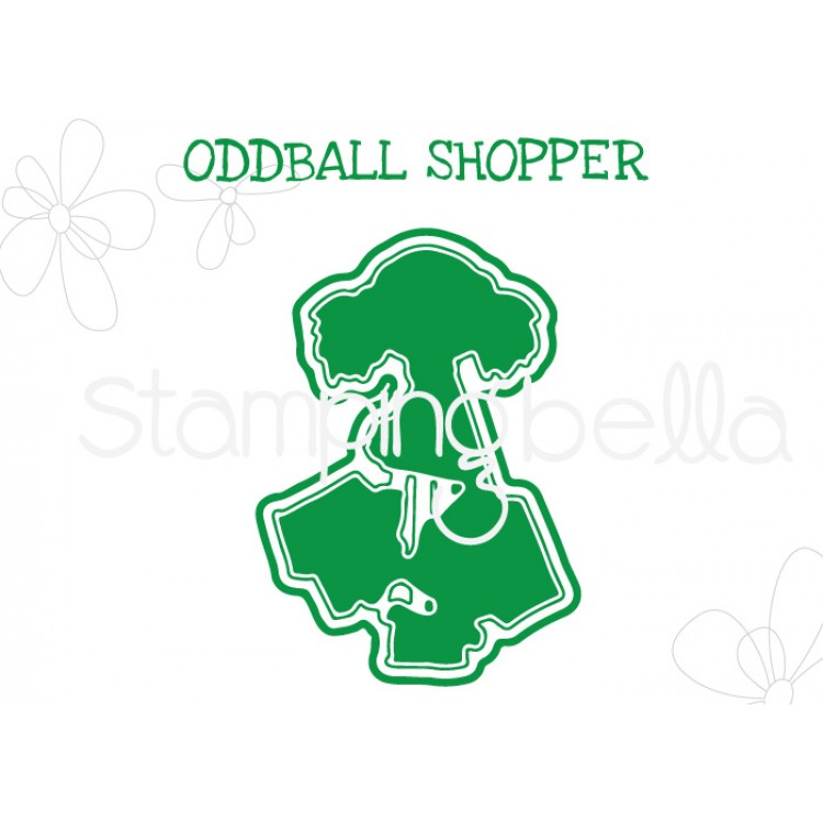 "*NEW* - Stamping Bella - Oddball Shopper ""CUT IT OUT"" DIE"