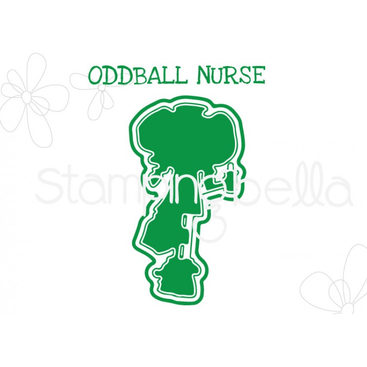 "*NEW* - Stamping Bella - Oddball Nurse ""CUT IT OUT"" DIE"