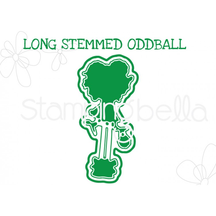 "*NEW* - Stamping Bella - Long Stemmed Oddball  ""CUT IT OUT"" DIE"