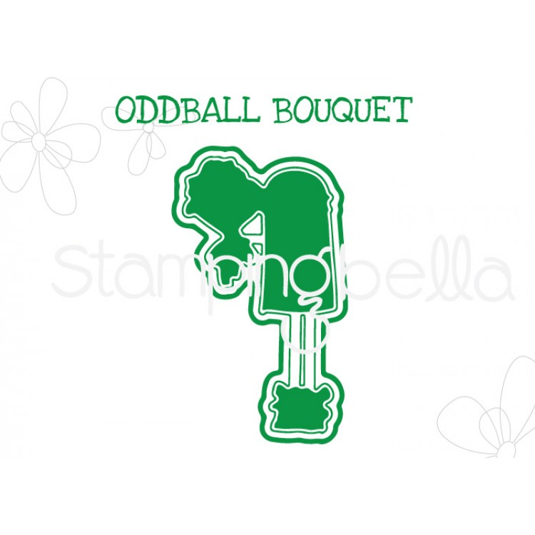 "Stamping Bella - Oddball Bouquet ""CUT IT OUT"" DIE"