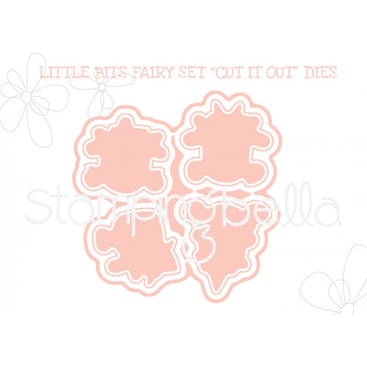 "*NEW* - Stamping Bella - Little Bits Fairy set ""CUT IT OUT"" DIE"