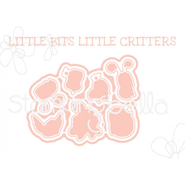 "*NEW* - Stamping Bella - Little Bits Critters ""CUT IT OUT"" DIE"