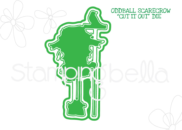 *NEW* - Stamping Bella - ODDBALL SCARECROW CUT IT OUT DIE
