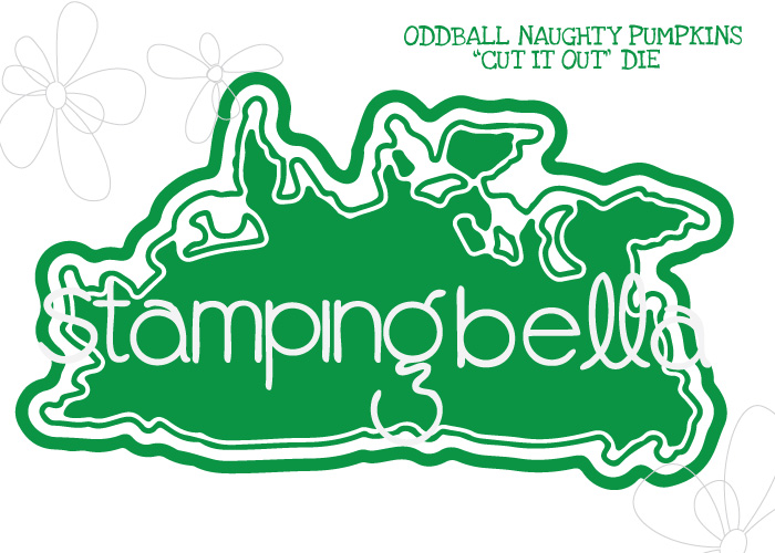 *NEW* - Stamping Bella - ODDBALL NAUGHTY PUMPKINS CUT IT OUT DIE