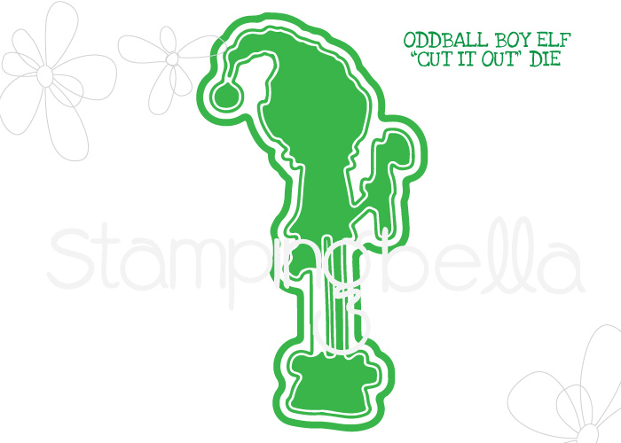 Stamping Bella - ODDBALL BOY ELF CUT IT OUT DIE