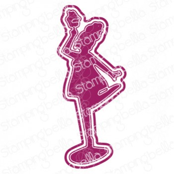 "Stamping Bella - CURVY GIRL with good balance ""cut it out"" die"
