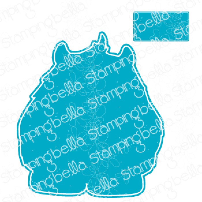 "**S** Stamping Bella - A GIFT FROM YETI ""CUT IT OUT"" DIE"