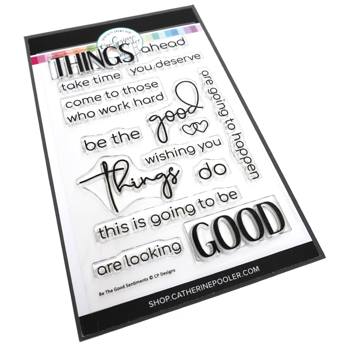 *NEW* - Catherine Pooler - Be The Good Sentiments Stamp Set