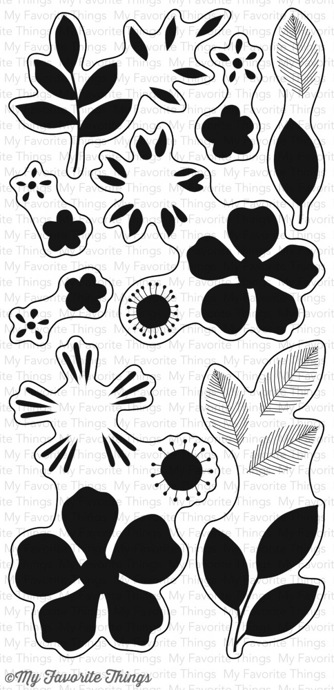 My Favorite Things - Flashy Florals Stamp Set