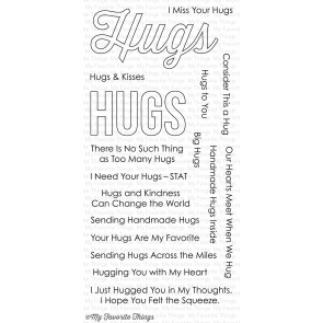My Favorite Things - Lots of Hugs Stamp Set