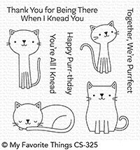 My Favorite Things - Cute Cats Stamp