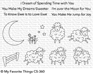 *NEW* - My Favorite Things - Over the Moon for Ewe