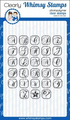 Whimsy Stamps - Spell It Out Fancy - Clear Stamps