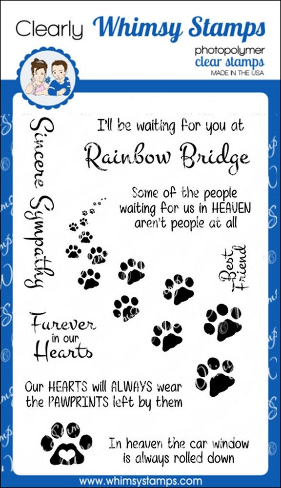 *NEW* - Whimsy Stamps - Furever in Our Hearts
