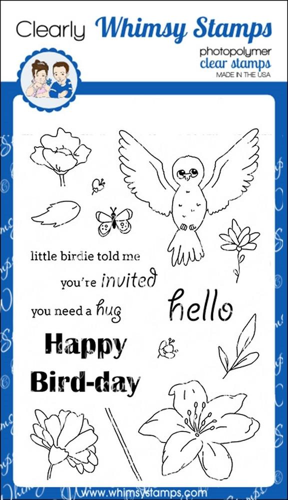 * Whimsy Stamps - Little Birdie Told Me