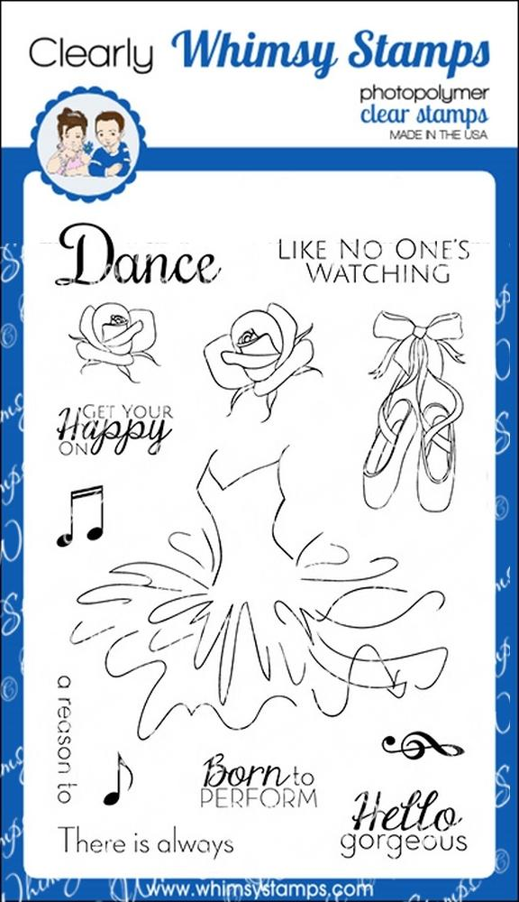 * Whimsy Stamps - Just Dance