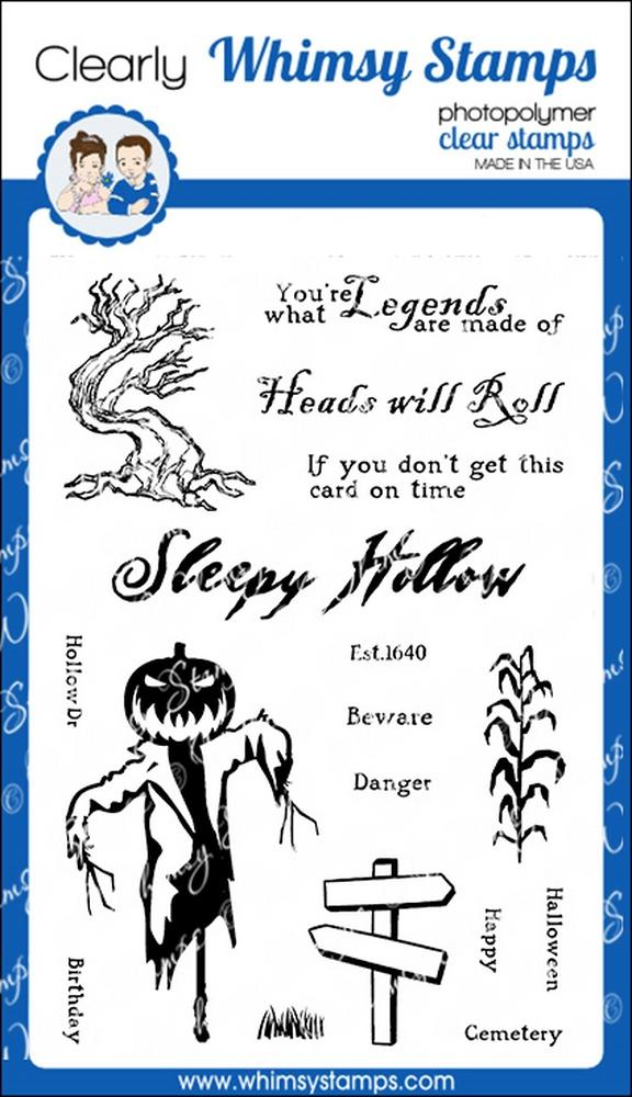 * Whimsy Stamps - Sleepy Hollow