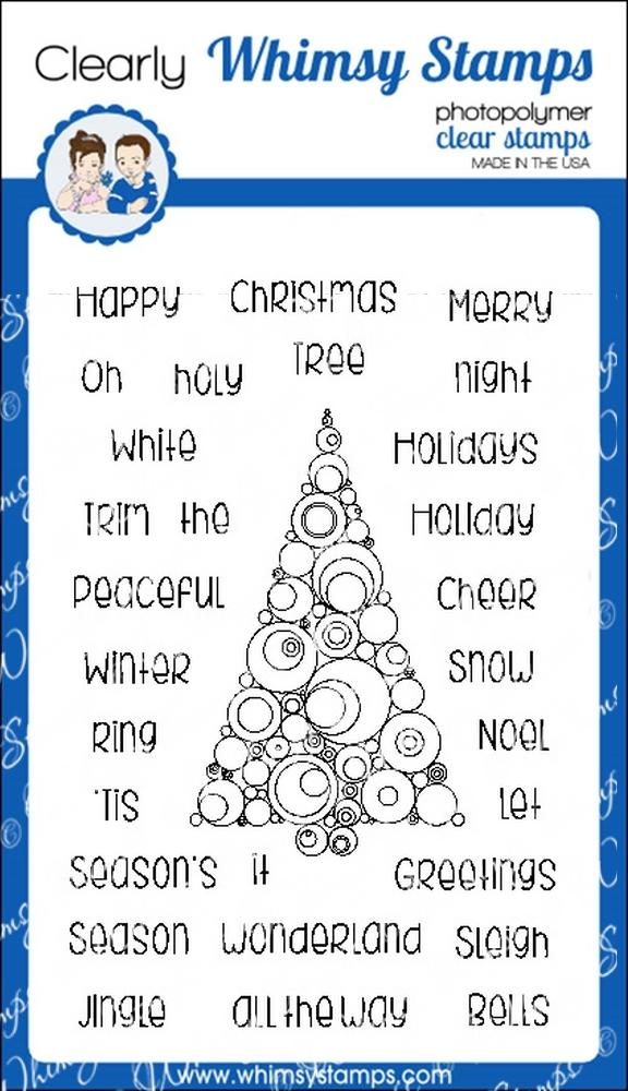 *NEW* - Whimsy Stamps - Abstract Christmas