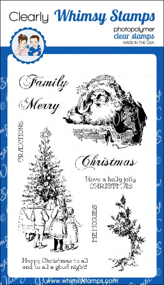 *NEW* - Whimsy Stamps - Christmas Memories