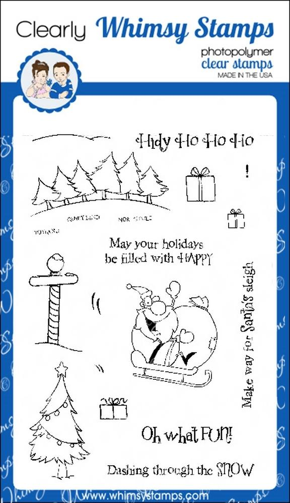 * XMAS* Whimsy Stamps - Oh What Fun