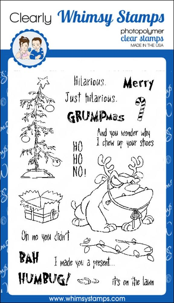 *NEW* - Whimsy Stamps - Grumpy Holidays