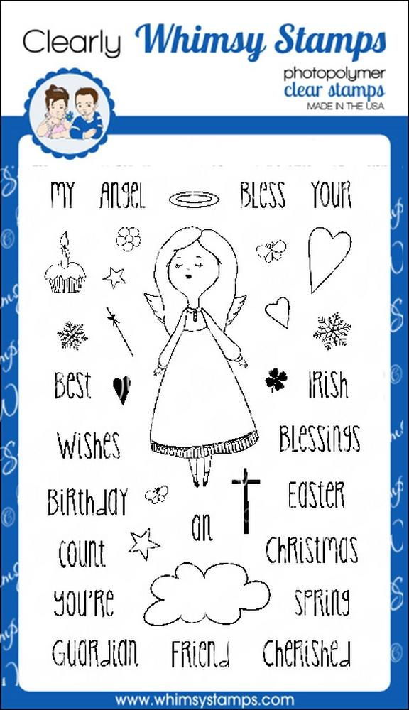 *NEW* - Whimsy Stamps - Angel Blessings