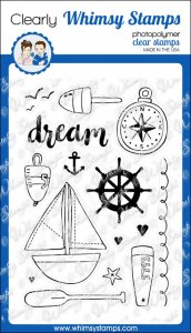 Whimsy Stamps - Ocean Journeys - Clear Stamps