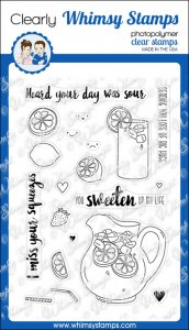 * Whimsy Stamps - Squeezed - Clear Stamps