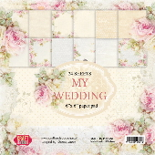 Craft & You - My Wedding 6 x 6 Paper Pad