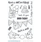 Your Next Stamp- Waddles - Happy Brrr-thday!