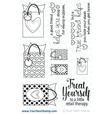 Your Next Stamp- Retail Therapy
