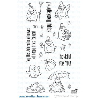 Your Next Stamp- Waddles - Fall Fun