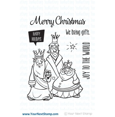 Your Next Stamp- Very Merry Wise Men