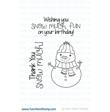*XMAS* Your Next Stamp- Snow Much Fun Snowman
