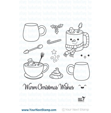 *XMAS* Your Next Stamp- Warm Christmas Wishes