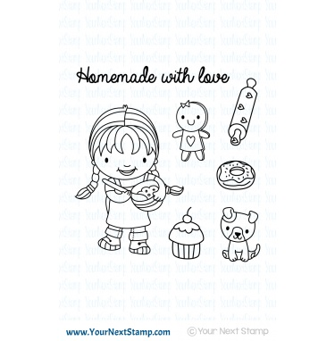 Your Next Stamp - Ellie Loves to Bake