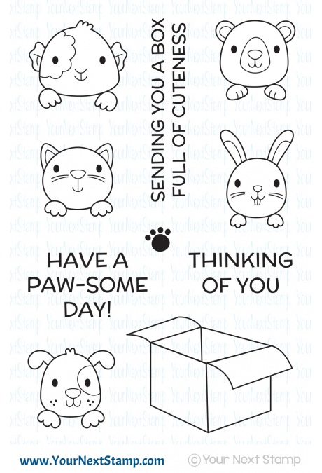 Your Next Stamp - Box Full of Cuteness