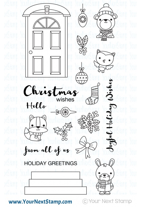 * XMAS* Your Next Stamp - Deck the Halls
