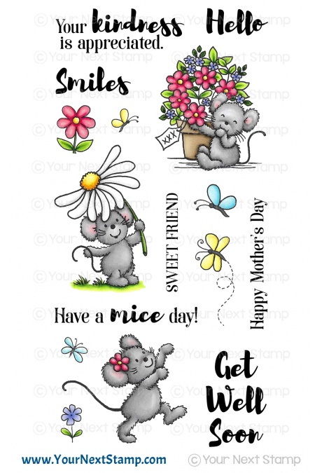 Your Next Stamp - Flowers and Smiles